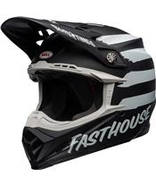BELL Moto-9 Mips Helm Fasthouse Signia Matte Black/Chrome Größe