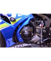 R&G RACING Race Series Left Cranckase Cover Black Suzuki GSX-R1000