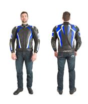 RST Pro Series CPX-C Jacket Leather Blue