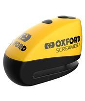 OXFORD Screamer 7 Disc Lock Ø7mm Yellow/Black