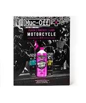 MUC-OFF Motorcycle Clean Protect & Lube Kit Pflegeset