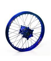 HAAN WHEELS Complete Rear Wheel 19x1,85x36T Blue Rim/Blue Hub/Silver Spokes/Silver Spoke Nuts
