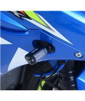 R&G RACING Front Indicator Adapters Black Suzuki GSXR-1000