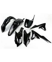 UFO Plastic Kit Black Yamaha YZ250F/450F