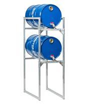 Pack estantería para bidones de aceite 60L Liqui Moly: 2 bidones 10W40 HC Sintético