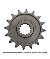 Pignon RENTHAL 14 dents acier standard pas 520 type 453 Kawasaki KX250F