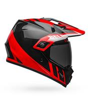Casco Bell MX-9 MIPS Adventure DASH Negro/Rojo/Blanco, Talla XL