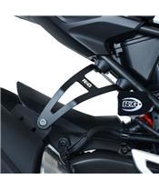 Patte fixation de silencieux R&G RACING noir Honda CB300R