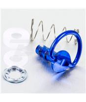 Tornillo rápido de Aluminio 1/4 de vuelta Pro-Bolt 17mm azul LQRCLIP17B