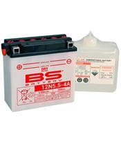Batterie BS BATTERY 12N5.5-4A conventionnelle livrée avec pack acide