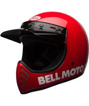 Casque BELL Moto-3 Classic Red