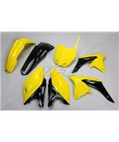 UFO Plastic Kit OEM Color (2014) Yellow/Black Suzuki RM-Z250