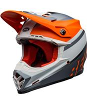 Casque BELL Moto-9 Mips Prophecy Matte Orange/Black/Gray