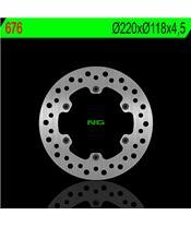 Disque de frein NG 676 rond fixe