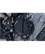 R&G RACING Motorgehäuse-Sturzpad rechts schwarz KTM 790 Duke
