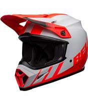 BELL MX-9 Mips Helmet Dash Matte Gray/Infrared/Black