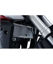 R&G RACING Kühlerschutz schwarz Honda CB125R
