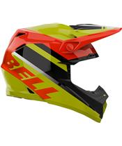 BELL Moto-9 Mips Helmet Prophecy Gloss Yellow/Orange/Black