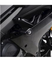 R&G RACING Aero Crash Protectors Black Yamaha YZF-R125