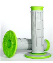Renthal DUal Grip grips grey/green