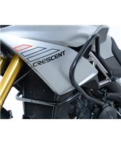 R&G RACING Adventure Side Protections Black Aprilia 1200 Caponord
