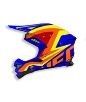 UFO Diamond Helmet Blue/Yellow/Orange