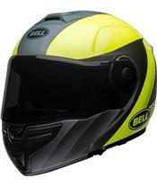 BELL SRT Modular Helmet Presence Matte/Gloss Grey/Neon Yellow