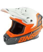ANSWER AR1 Voyd Youth Helmet Charcoal/Gray/Orange