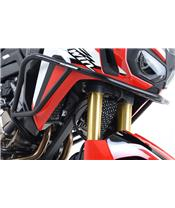 Protections latérales R&G RACING haute noir Honda CRF1000L Africa Twin