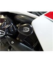 Tampons de protection supérieurs R&G RACING Aero noir Yamaha YZF-R1
