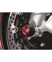 Protections fourche et bras oscillant (axe de roue) LIGHTECH rouge Yamaha T-Max 530