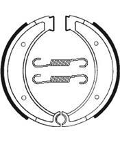 Mâchoires de frein TECNIUM BA116 organique