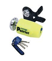 OXFORD Patriot Disc Lock Ø14mm Yellow