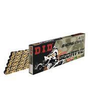 D.I.D 520 ATV2 Ketting Goud/Zwart 100 Schakels RJ Clip