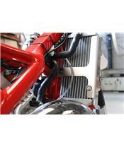 Proteção de radiador AXP, alumínio, vermelha, Beta RR125