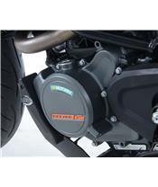 Slider moteur gauche R&G RACING noir KTM Duke 125