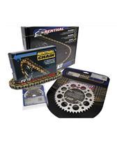 RENTHAL Chain Kit 520 type R3-2 13/50 (Ultralight™ Self-Cleaning Rear Sprocket) Husqvarna CR125/WR125