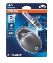 OSRAM H4 X-Racer 12V/60/55W Sockel P43t-38 Blister 2stk + Helm