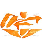 Kit plastiques UFO orange fluo KTM SX/SX-F