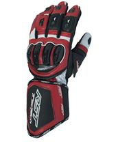 RST Tractech Evo CE Gloves Leather Red Siz