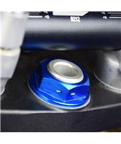 SCAR Steering Stem Nut Blue Yamaha YZ125/250
