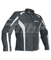 Chaqueta textil (Hombre) RST Rider Negro, Talla XL/56
