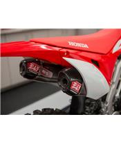 YOSHIMURA USA RS-9T Full Throttle System Stainless Steel/Stainless Steel Muffler Honda CRF450R/RX