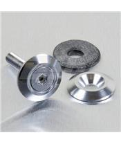 Arruela de alumínio escareada M5 (19mm ØExt.) prata LWAC5S