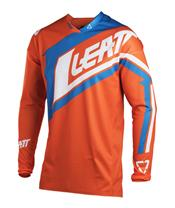 LEATT GPX 4.5 Lite Jersey Orange/Denim