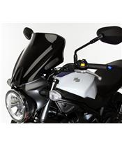 "MRA ""NSN"" Spoiler Windshield Black Suzuki SV650"