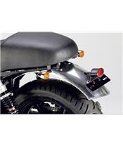 Rear mudguard in primary aluminium LSL Triumph