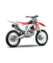 YOSHIMURA USA RS-9 STAINLESS/2 ALU MUFFLER FOR HONDA CRF450R