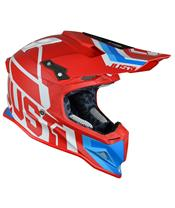 Casque JUST1 J12 Unit Red/White