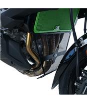 R&G RACING Krümmerschutzgitter schwarz Kawasaki Versys 1000
